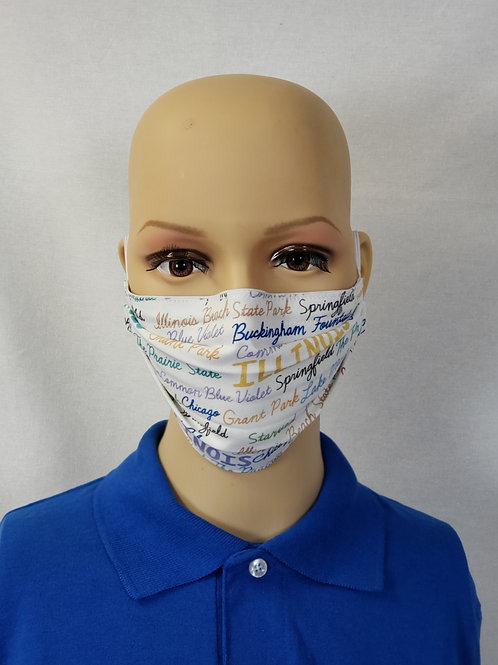 State Pride - Illinois Cloth Face Covering