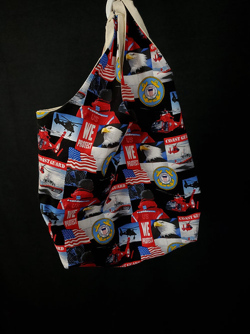 US Coast Guard Reusable Shopping Bag
