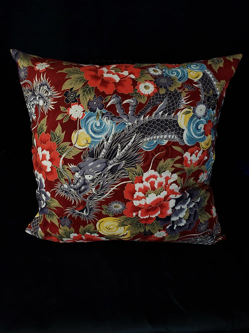 Chinese Dragon Pillow