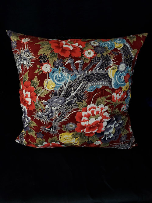 Chinese Dragon Pillow