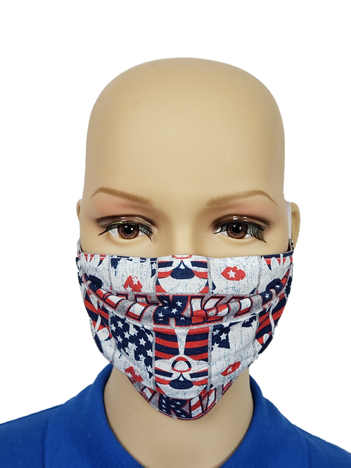 Cloth Face Covering made from Kiss fabric