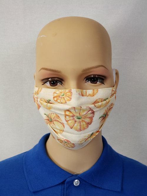 Pastel Pumpkins Cloth Face Covering