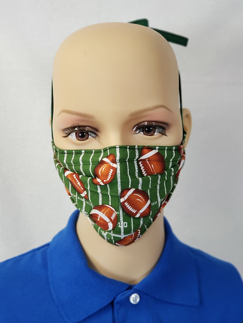 Football Cloth Face Covering