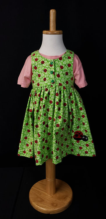 Green Ladybug Jumper