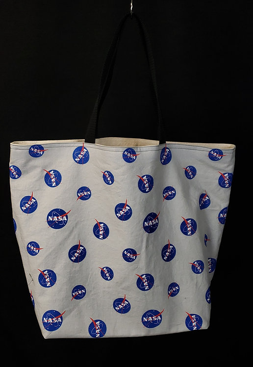 NASA Reusable Gusseted Market Bag