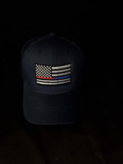 Lives Matter Blue Trucker Hat