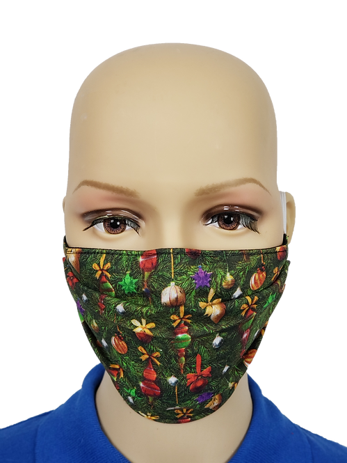 Christmas Tree Close-Up Cloth Face Covering