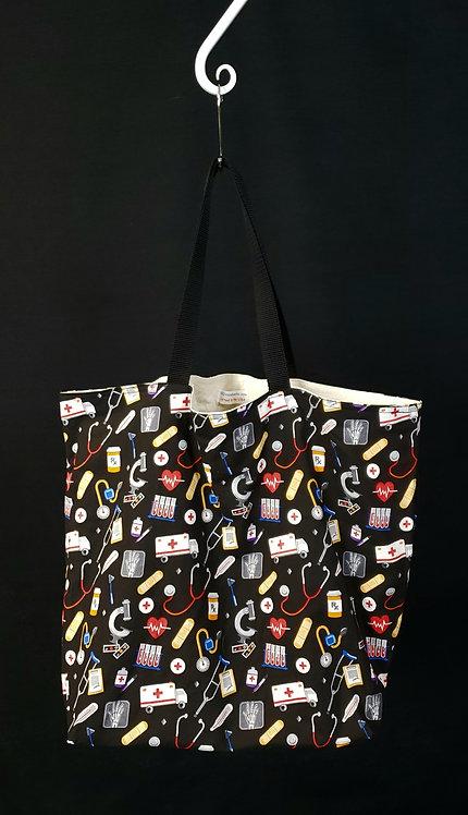 Meds Reusable Gusseted Market Bag
