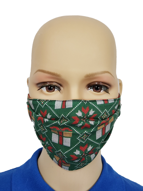 Christmas Sweater Cloth Face Covering