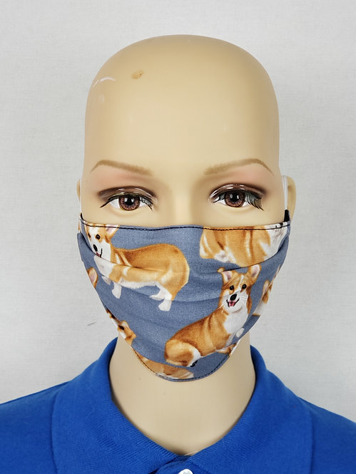 Corgis Cloth Face Covering