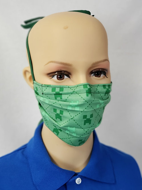 Cloth Face Covering made from Creeper Fabric