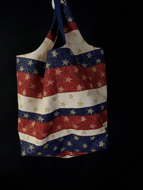 Sparkle USA Reusable Shopping Bag