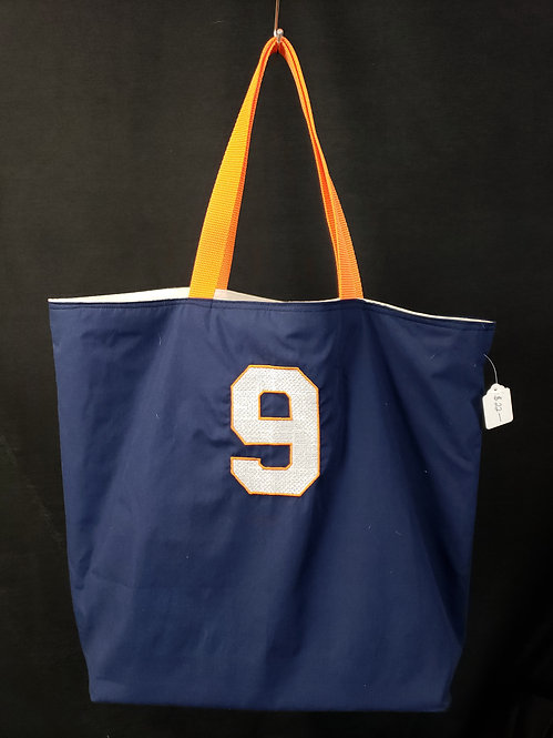 Number 9 Reusable Gusseted Market Bag