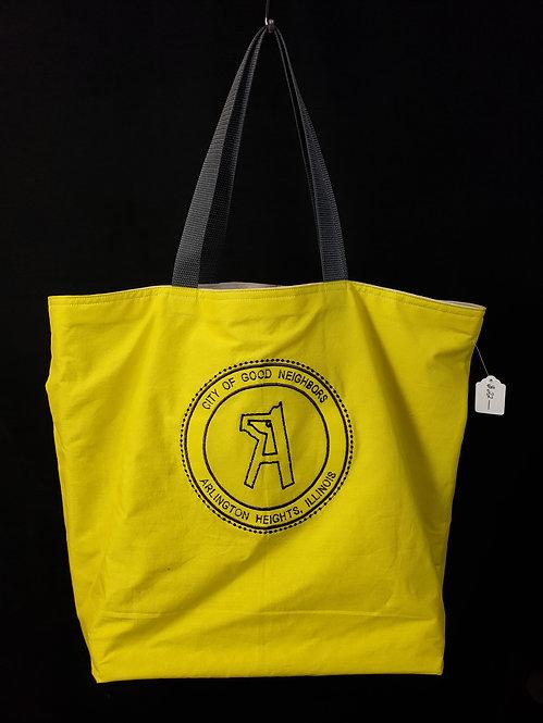 Village of Arlington Heights Reusable Gusseted Market Bag