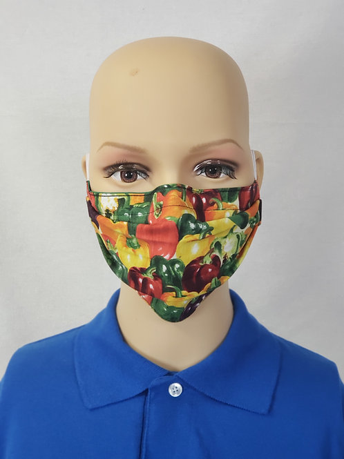 Bell Pepper Cloth Face Covering