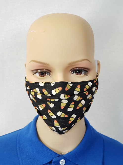 Candy Corn Cloth Face Covering