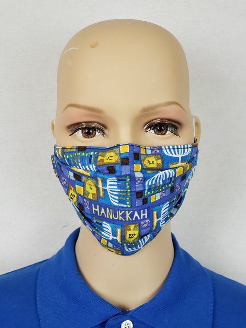 Hannukah Cloth Face Covering