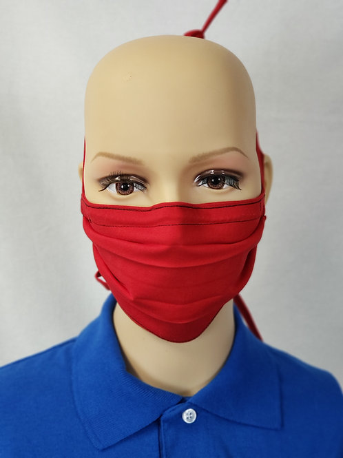 Solid Color Cloth Face Covering