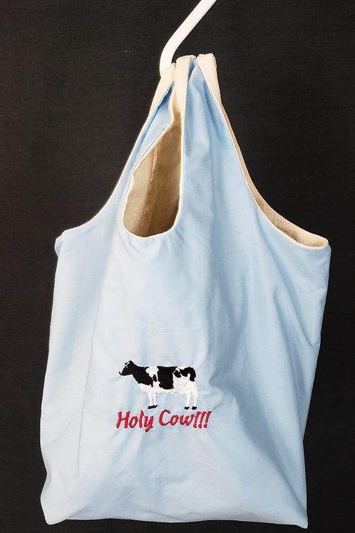 Holy Cow! Reusable Shopping Bag
