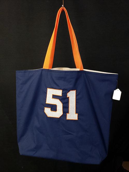 Number 51 Reusable Gusseted Market Bag
