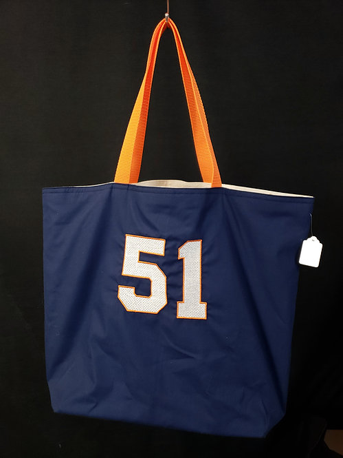Number 51 Reusable Gusseted Market Bag