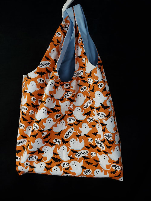 Trick or Treat Ghost Reusable Shopping Bag