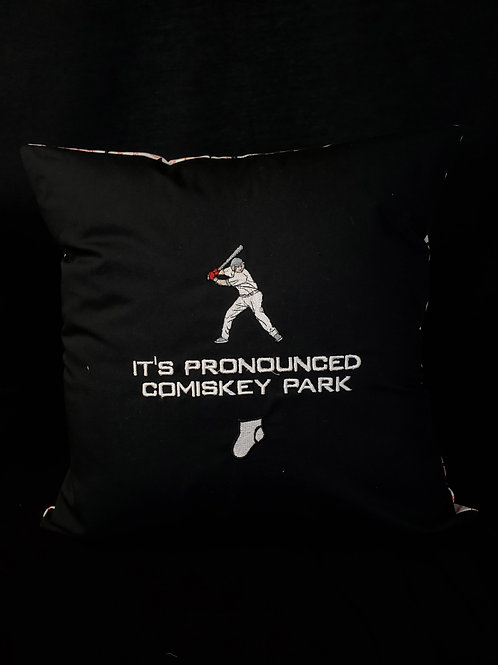 Comiskey Park Pillow