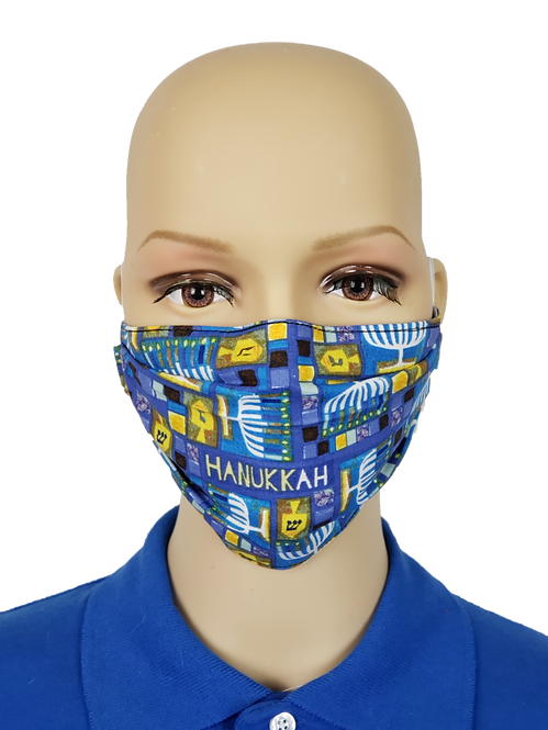 Hannukah Cloth Face Covering