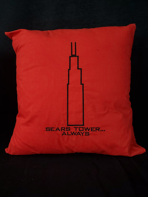 Sears Tower Always Pillow