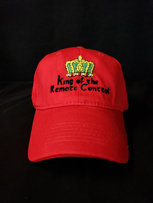 King of the Remote Control Unstructured Baseball Hat