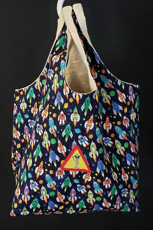 Area 51 Reusable Shopping Bag