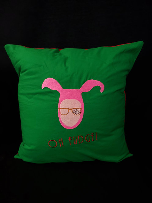 Pink Nightmare Pillow
