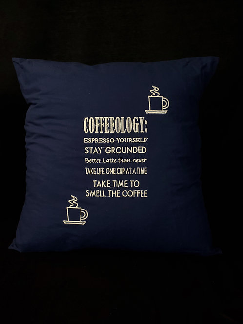 Coffeeology Pillow