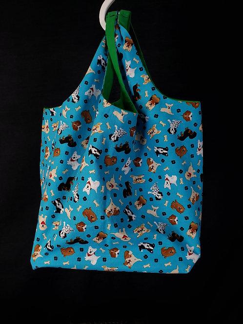 Dogs Reusable Shopping Bag