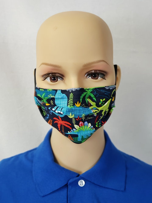 Dinosaur Kids Cloth Face Covering
