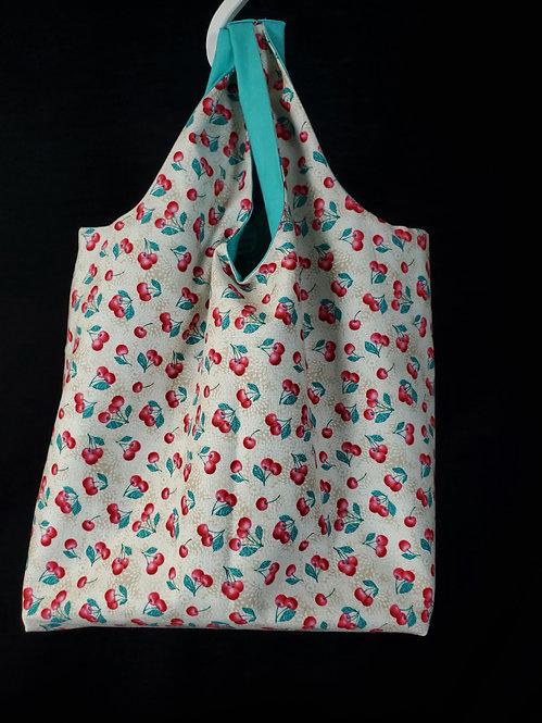 Cherry Reusable Shopping Bag