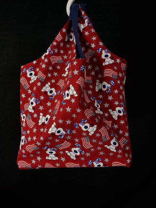 American Dog Reusable Shopping Bag