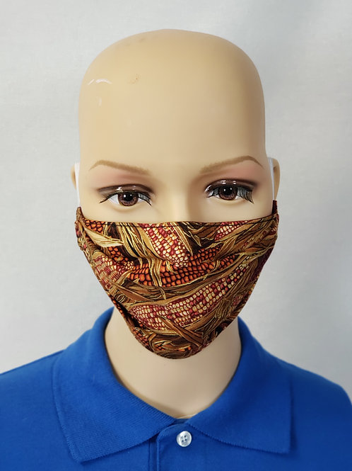 Corn on the Cob Cloth Face Covering