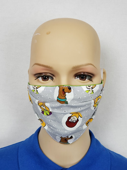 Cloth Face Covering made from Scooby-Doo fabric