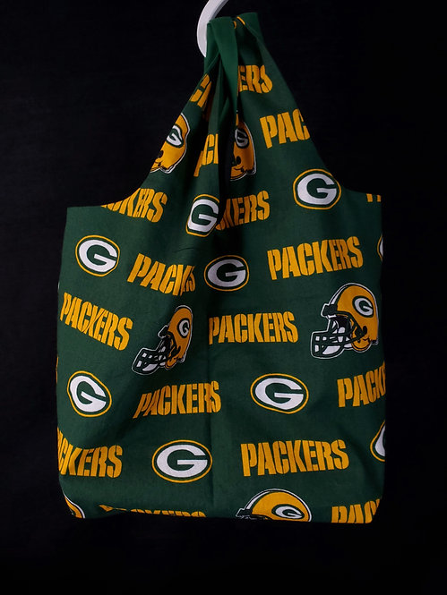 Reusable Shopping Bag made from Packers fabric