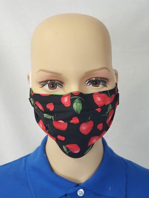 Love Cherries Cloth Face Covering