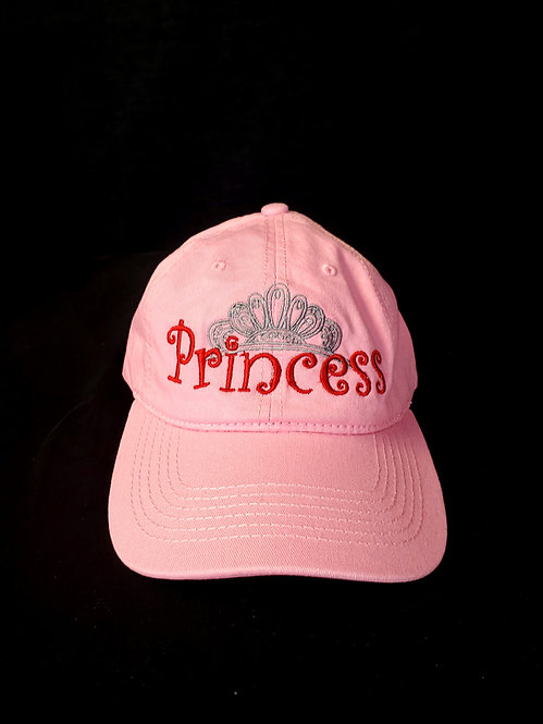 Pink Princess Baseball Hat