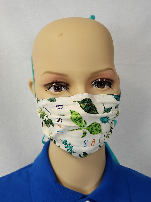 Herbs Cloth Face Covering