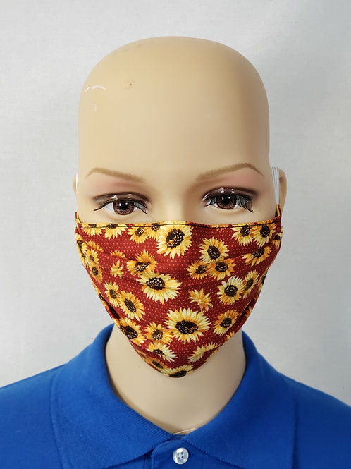 Sunflowers Cloth Face Covering