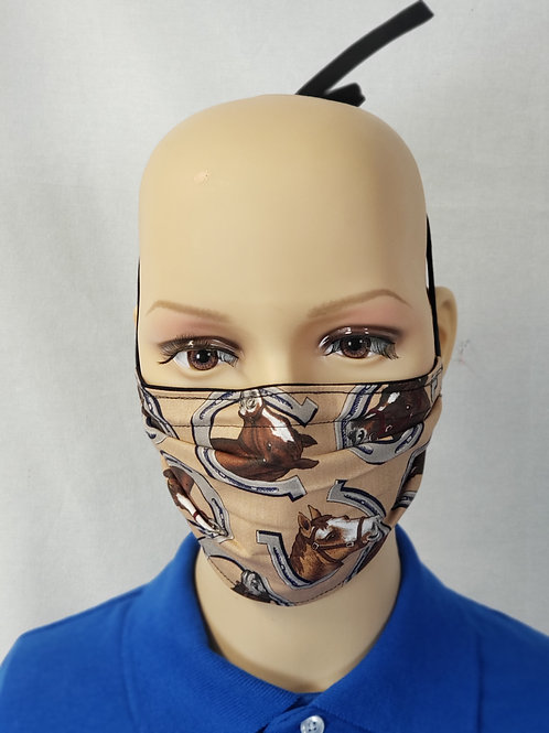Horse Busts Cloth Face Covering