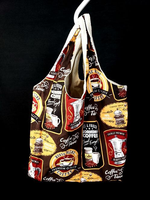 """""""Coffee"""" Reusable Shopping Bag"""