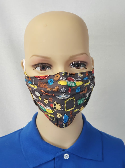 Cloth Face Covering made from Friends Fabric