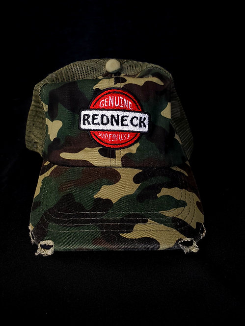 Redneck Forest Camo Trucker Hat