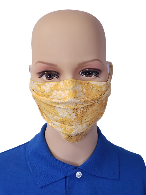 Citrus Flowers Cloth Face Covering