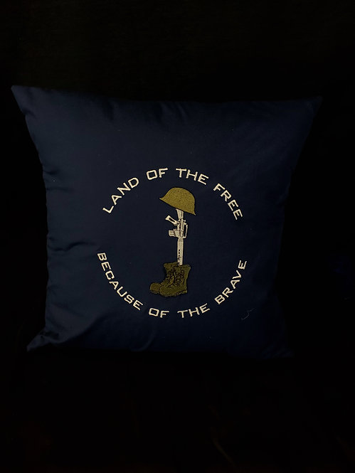 Land of the Free Pillow